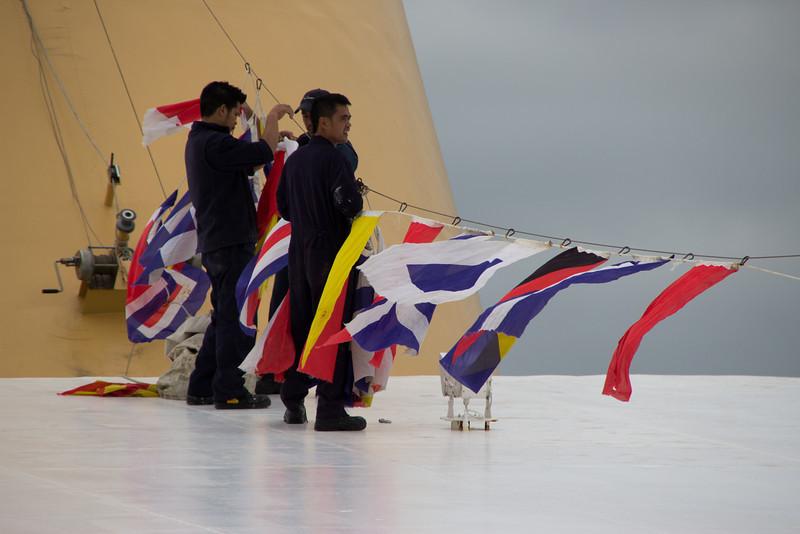 Raising the Flags<br /> Southampton