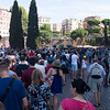 Apparently August is a very popular time to visit Rome, despite the crushing heat.