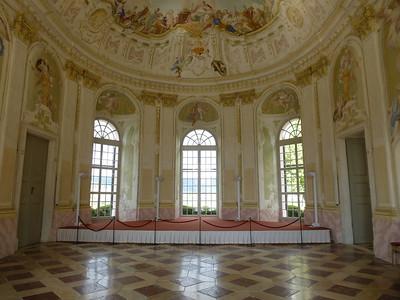 Inside the Baroque Garden Pavilion at Melk Abbey