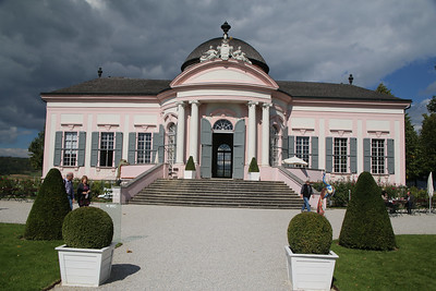 The Baroque Garden Pavilion at Melk Abbey