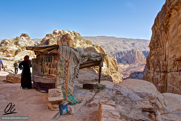 The great Bazar - Petra, Jordania