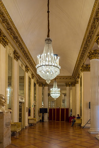 Inside the Teatro alla Scala