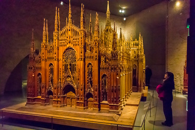 Scale model of the Duomo