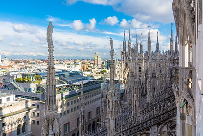 Rooftop of the Duomo di Milano