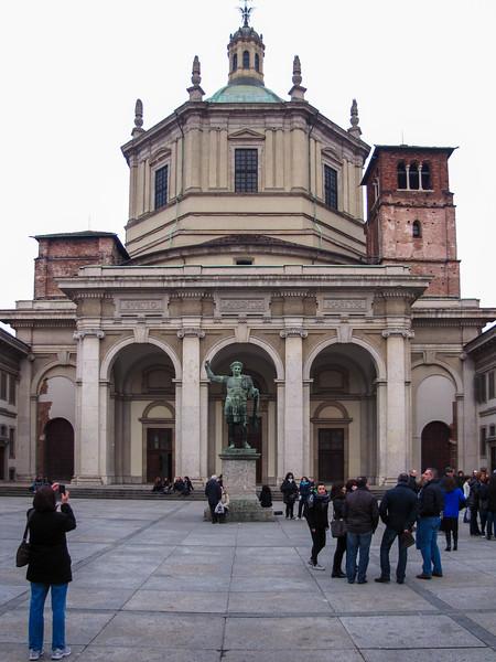 The Basilica di San Lorenzo Maggiore alle Colonne