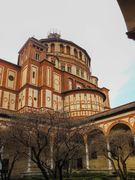 Santa Maria delle Grazie, home to Leonardo da Vinci's Last Supper