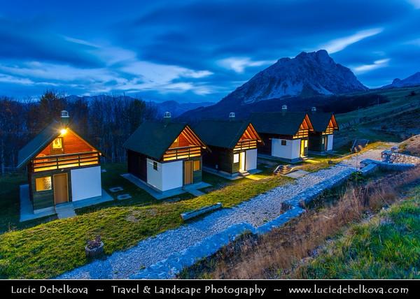 Europe - Montenegro - Crna Gora -  Црна Гора - Komovi mountains - Impressive mountain range of Montenegro and of Dinaric Alps