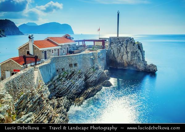 Europe - Montenegro - Crna Gora -  Црна Гора - Budvanska Rivijera - Petrovac - Coastal resort town in the central part of Montenegro Adriatic coastline