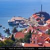 Europe - Montenegro - Crna Gora -  Црна Гора - Budvanska Rivijera on Adriatic coastline near Petrovac coastal town - Petrovac na Moru - Петровац на Мору