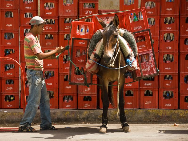 Tradional method of transporting goods