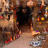 Wonderful shop in Marrakesh selling all sorts of trinkets