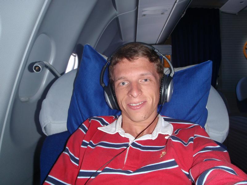 Flying Lufthansa First Class