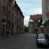 side street in Nuremberg