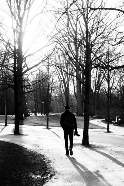 Winter in Vondelpark. February 2013