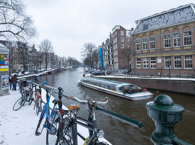 Canal Tour, Amsterdam, Holland, 2010