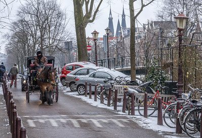 A Cold Carriage Ride, Amsterdam, Holland, 2010