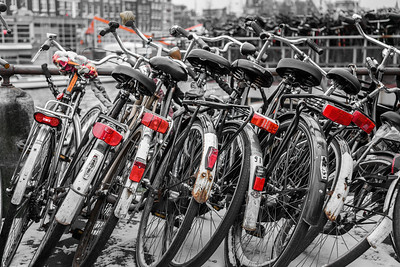 Bicycles!, Amsterdam, Holland, 2010
