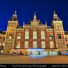 Europe - Netherlands - Nederland - North Holland - Noord Holland Province - Amsterdam - Capital and largest city of the Netherlands - UNESCO World Heritage - Central station