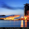 Europe - Netherlands - Nederland - North Holland - Noord Holland Province - Amsterdam - Capital and largest city of the Netherlands - UNESCO World Heritage - New EYE Film Institute located on the watefront behind central station - Includes a cinematography museum formerly called Filmmuseum
