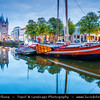 Europe - Netherlands - Nederland - Zeeland Province - Sea-land - Zealand - Zierikzee - Historical town with unique medieval street pattern located on the former island of Schouwen