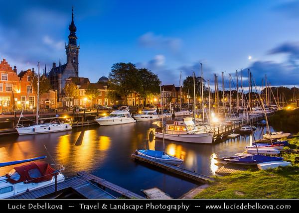 Europe - Netherlands - Nederland - Zeeland Province - Sea-land - Zealand - Walcheren island - Veere - Small historical town standing on the Veerse Meer lagoon