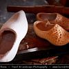 Netherlands - The traditional all-wooden Dutch klompen - Clogs - Footwear traditionally worn by workers as protective clothing in factories, mines and farms <br /> <br /> Camera Model: Canon EOS 5D Mark II; Lens: 28.00 - 300.00 mm; Focal length: 60.00 mm; Aperture: 5.6; Exposure time: 1/80 s; ISO: 3200