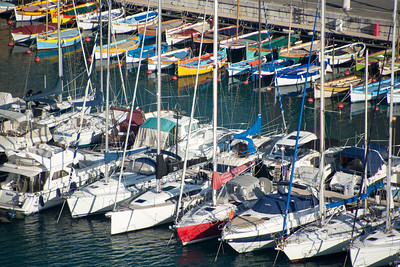 Boats in Nice Port