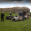 BMW R12 Wehrmacht Motorrad German WW2 Motorcycles next to a German coastal gun emplacement.<br /> <br /> Normandy, France<br /> <br /> ~ Image by Martin McKenzie All Rights Reserved ~