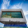 The Three Graces reflected in the Museum of Liverpool