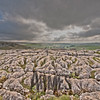 Limestone pavement at the top of Malham Cove