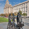 The Beatles immortalised on Liverpool's Pier Head
