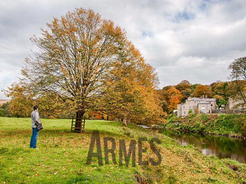 River Hodder and the Inn at Whitewell
