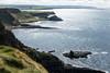 Coastal trail to Giant's Causeway