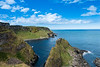 Coastal trail to Giant's Causeway