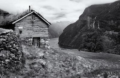Skageflå Farm in Geirangerfjord
