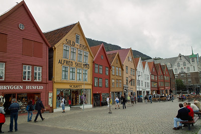 Old Bergen (Bryggen district)