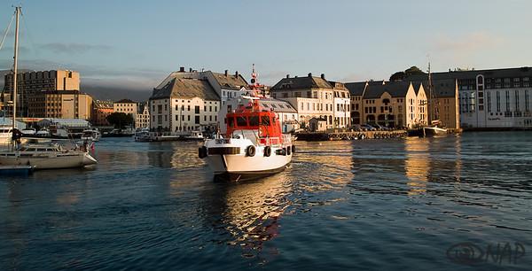 Alesund harbor