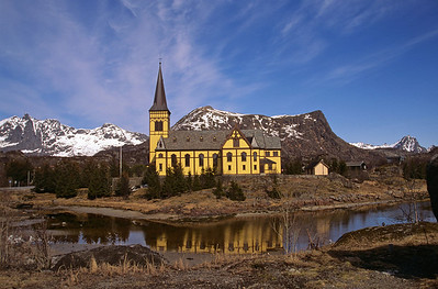 Norway, Lofoten Islands, Svolvaer May 1999
