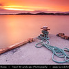 Norway - Finnmark - Extreme Northeast of Norway - North of the Arctic Circle - Journey to North Cape - Nordkapp - Davvenjárga - The Very North of Europe - Dramatic Sunset that turns into Sunrise during Midnight Sun - Norskehavet Bay