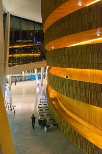 Inside the Oslo Opera House