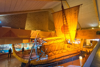The Ra II reed ship