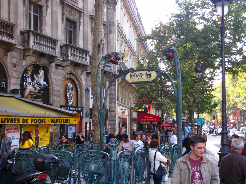 The Latin Quarter.