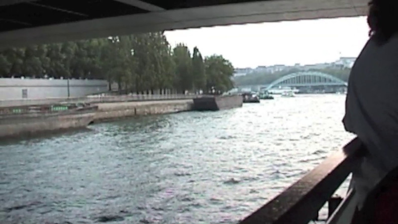 Paris Boat Tour 2002