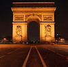 Arc de Triomphe is another symbol of Paris. It ends the Avenue of Champ Elysee.