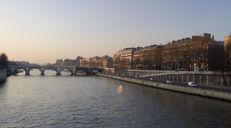 The Seine - another symbol of Paris.