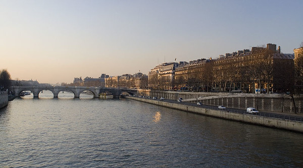 The Seine - another symbol of Paris.