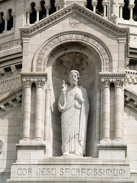 Detail - Basilique du Sacre Coeur/Basilica of the Sacred Heart