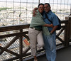 Joy and me at the Eiffel Tower