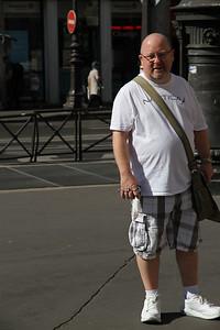 Sept. 9/12 - Vince outside The Opera Garnier, Paris