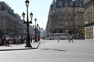 Sept. 9/12 - Streets near The Opera Garnier, Paris